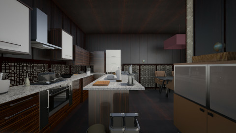 29042015_Proj3 - Rustic - Kitchen - by Sam Felicia