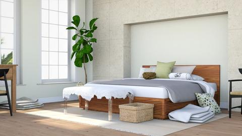 Coastal Getaway - Minimal - Bedroom - by millerfam