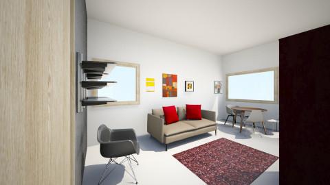 Olohuone_4 - Living room - by Essi_eames