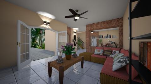 Village Clarissa - Modern - Living room - by Mariesse Paim