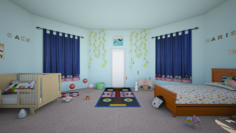 Cake and Marie Room - Kids room - by chipchop