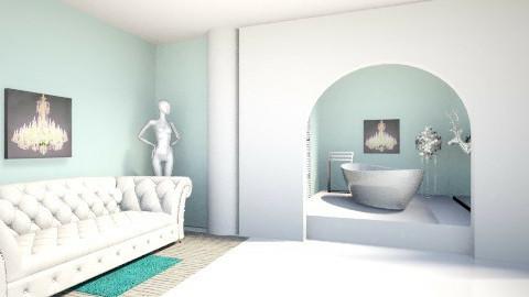Mint_Bathroom - Glamour - Bathroom - by Gre_Taa