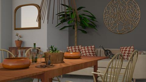Acacia_Wood - Living room - by ZuzanaDesign