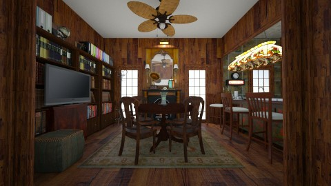 Booknook - Dining room - by VBear