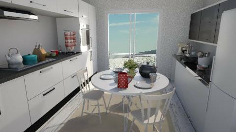 sea scene kitchen - Kitchen - by Amyy