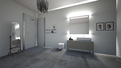 Modern Bathroom - Modern - Bathroom - by IHMSgortney