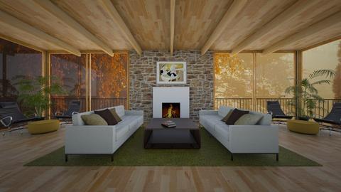 Midcentury Modern - Living room - by amyskouson