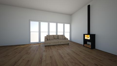 woonruimte - Living room - by Blokhut