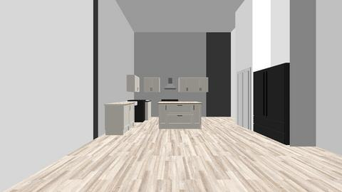 Kitchen and Great Room - Rustic - by ecareyincville