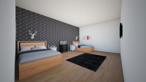 dorm room - Bedroom - by taylor2018