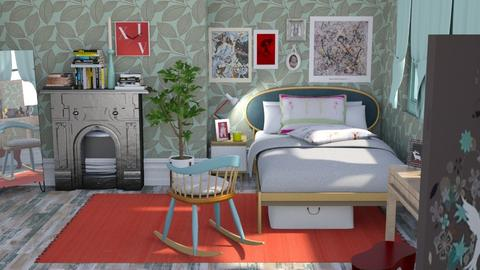 MMP - Eclectic - Bedroom - by augustmoon