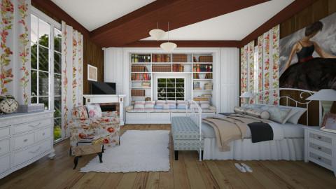 DIA DE CHUVA - Bedroom - by Roberta Coelho