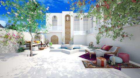 Riad - Eclectic - Garden - by AlSudairy S