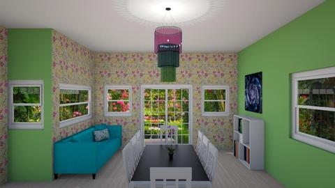 Colorful Space - Dining room - by brox
