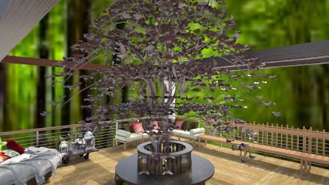 tree house - Garden - by Ana Monteiro