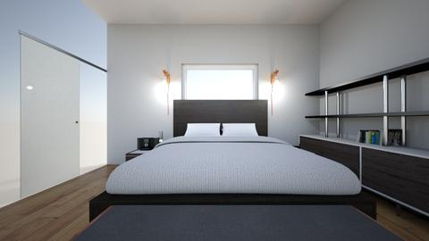master - Bedroom - by archerking