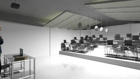 modren class room - by KhoKho Yemen