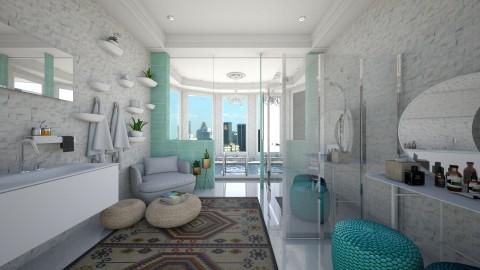 23rd Floor Bathroom - Bathroom - by nelly_wreland