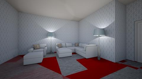 Interior design 1 apt - Modern - Bedroom - by 150003097