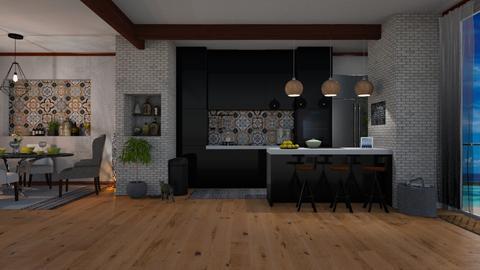 sleek - Kitchen - by Just Bee