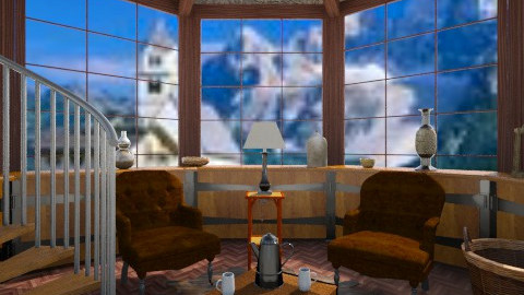 Treehouse Design  - Living room - by whodat1910