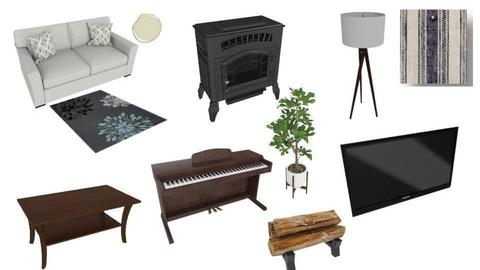 mood board of living room - by babylong09