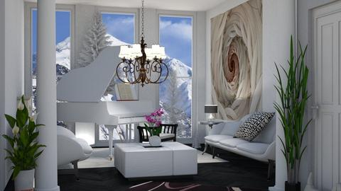 Template room - Living room - by Suebonstra