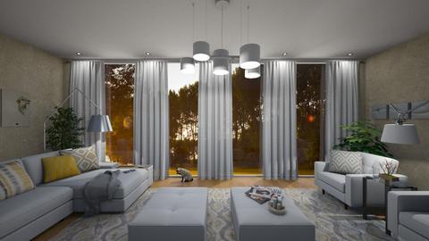 Patio Doors - Living room - by GraceKathryn