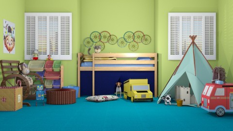 Wigwam - Country - Kids room - by Kathran
