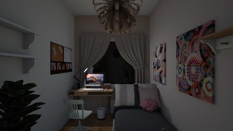 bedroom1b - Classic - Bedroom - by elawitkowska