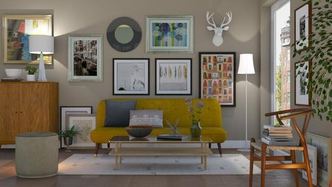 Art Collectors Home - Eclectic - Living room - by Valkhan