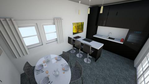 first kitchen - Kitchen - by ananasutovic