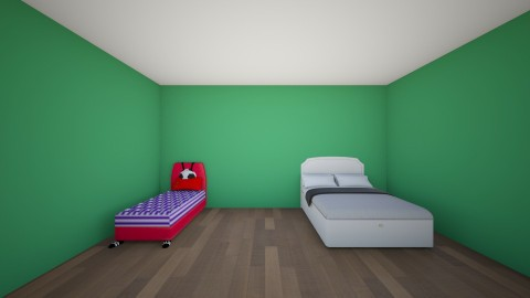 Fixing floors - Modern - Bedroom - by Carol Azmy