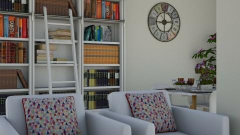 salon beige - Vintage - Living room - by melanie99