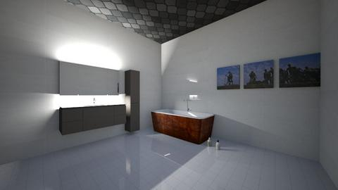 Bathroom Charlie - Modern - Bathroom - by SlimeVilleGames