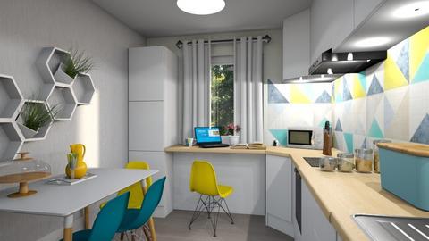 Mirela Badalan kitchen - Modern - Kitchen - by Flori Santa