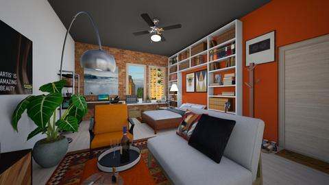 Urban Life - Modern - Living room - by PomBom
