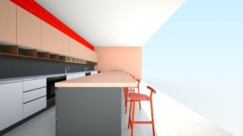 A Large Kitchen 1  - Kitchen - by ilovepie