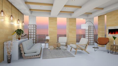 natural - Minimal - Living room - by mari mar