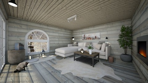 Winter room 3 - by Alyce Design concept