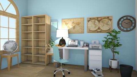 Kelly Office - Office - by Lori Hallman Douglas