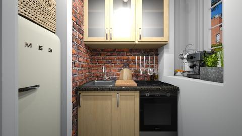 Casa185Kitchen - Eclectic - Kitchen - by nickynunes
