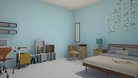 simplicity - Classic - Bedroom - by Anna Wu