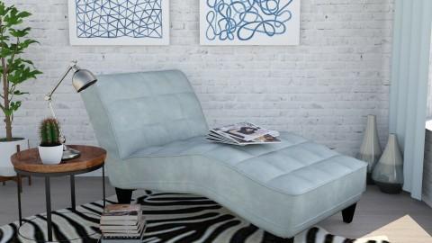 Thin air - Retro - Living room - by Lucii