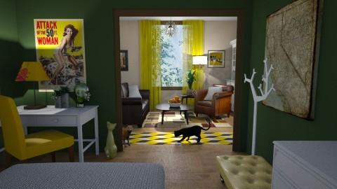 renovation - Retro - Living room - by anchajaya