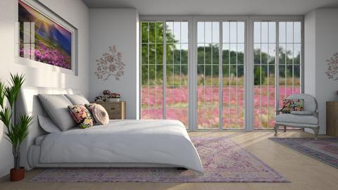 Field of Flowers - Modern - Bedroom - by millerfam