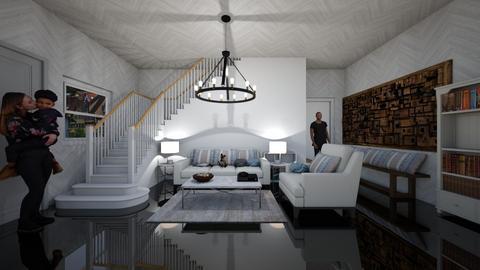 house 3 - Living room - by guyciara87