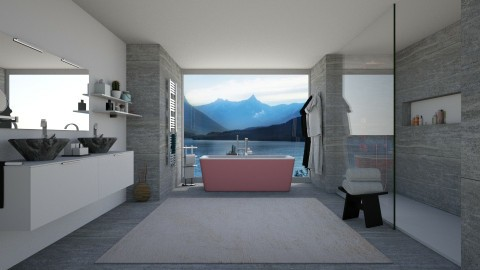Bathroom - by irug19_