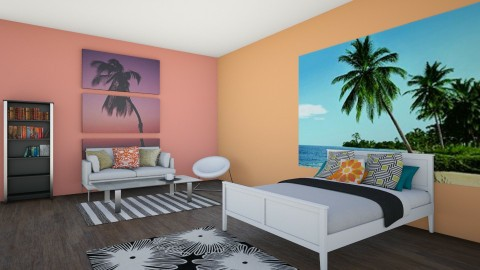 Beach Themed Bedroom - Bedroom - by Lauren432