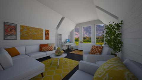 New Structure Design - Living room - by PenAndPaper